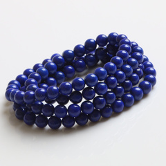 Pro-Bao Crystal strong Lao Kings Youth purple less blue lapis lazuli bracelet gold jewelry without starting from scratch