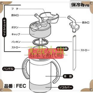 Part of the stock purchasing Japanese Thermos vacuum heat insulation suction cups off the FEC 280 Accessories
