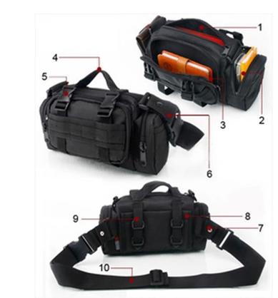 На открытом воздухе один между пакет карман мужской многофункциональный 3P магия карман с тремя водонепроницаемый пакет тактический посланник мужчина почтовая сумка