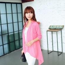 Maternity summer coat Summer air conditioning unlined upper garment pregnant women coat candy knitting cardigan is prevented bask in unlined upper garment of spring and summer