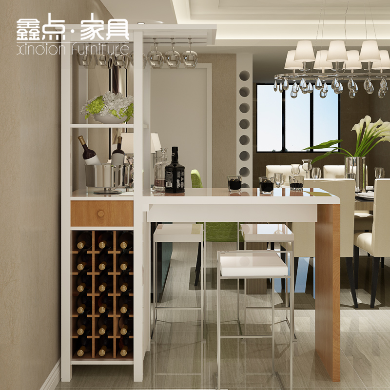 Xin Point Home Bar Furniture Counter Cabinet Parion Versatile Creative Living Room Tables B Loading Zoom