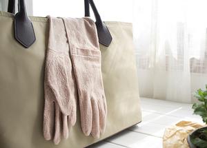 出口日本 春夏日系防紫外线防UV防晒防滑手套 长款女全棉开车手套
