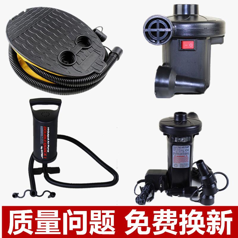 真空壓縮袋收納袋電動抽氣泵吸氣泵腳踩氣泵蓄電池泵車載電泵氣筒