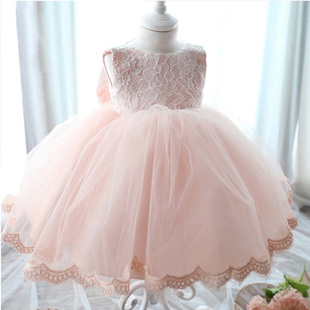 Children dress tutu princess dress veil flower fairy dress piano performance clothing girls plus velvet winter