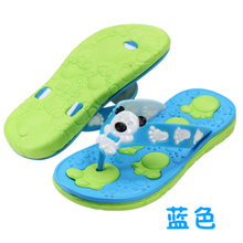 Special packages mailed the new children slippers big child ZhongTong sandals Male girl antiskid casual flip-flops