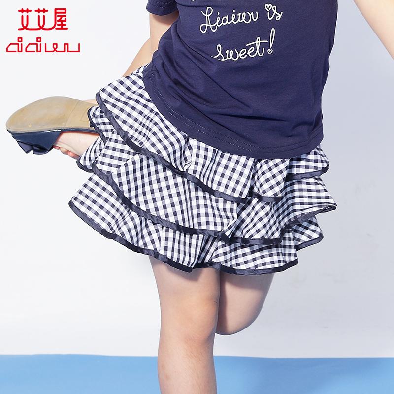 Ай ай дом ребятишки девочки сетка юбка лето дети девушка юбка случайный торт юбка сын KCSS03