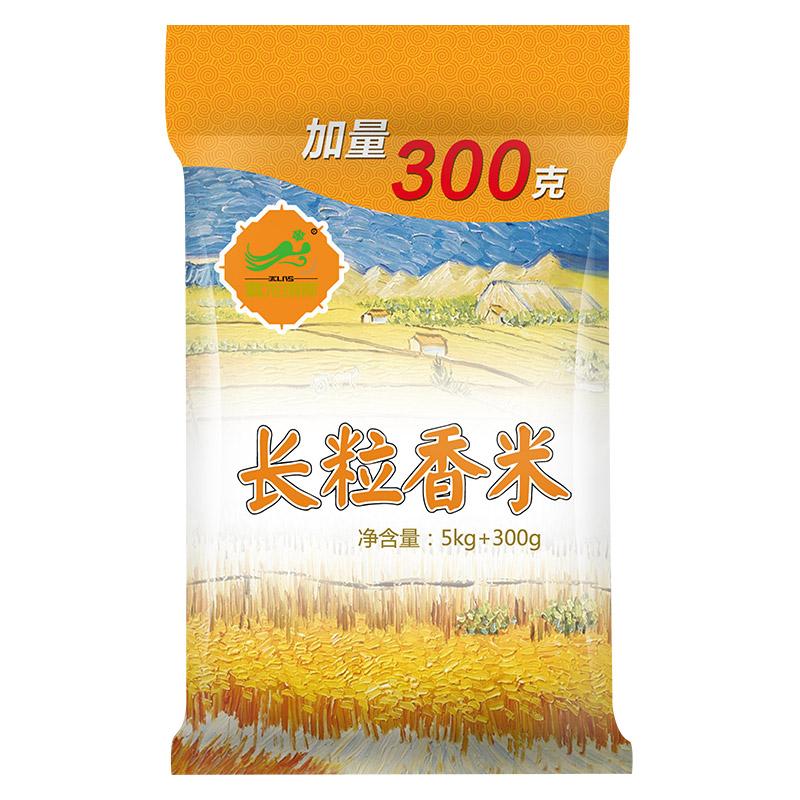 雪龍瑞斯 長粒香米5kg加量300g 東北大米 長粒米