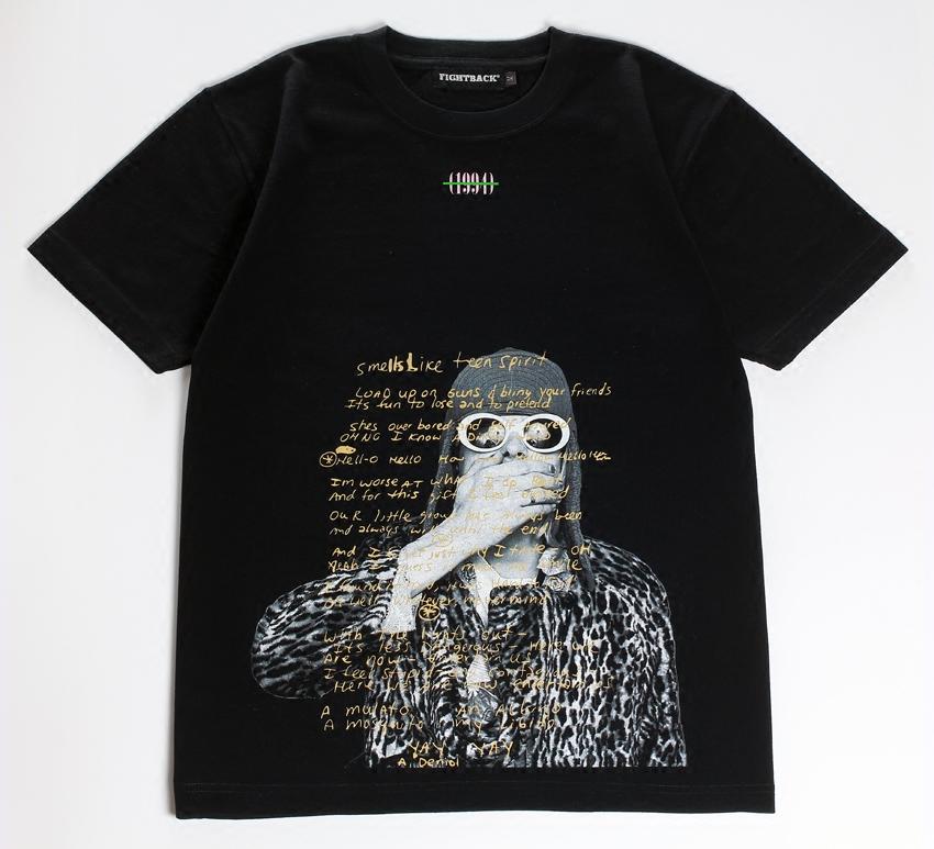 国内品牌FIGHTBACK科本涅磐NIRVANA涅磐柯本科特短袖TEE男款t恤
