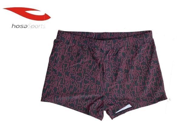 浩沙水立方男士泳衣 抗氯耐磨 速干修身时尚大码宽松男士平角泳裤
