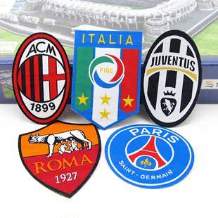 足球迷用品中超罗马队徽章烫布贴