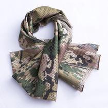户外特种兵战术围巾正品男女军迷迷彩方巾丛林伪装防风沙速干网巾