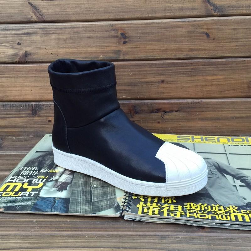 Shell-toe пакет электронной почты Рик Оуэнс мужчин овчины комфорта и отдыха вспышки Бангтао ноги в корейской версии lazy man ботильоны обувь
