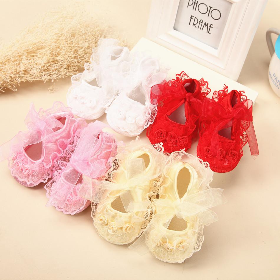 0-12個月學步鞋3男女寶寶春秋夏季0-1歲嬰兒鞋子軟底防滑蕾絲單鞋
