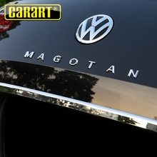 Dedicated to Volkswagen New Magotan b8 modified MAGOTAN English letters rear tail box car stickers b7 decorative accessories
