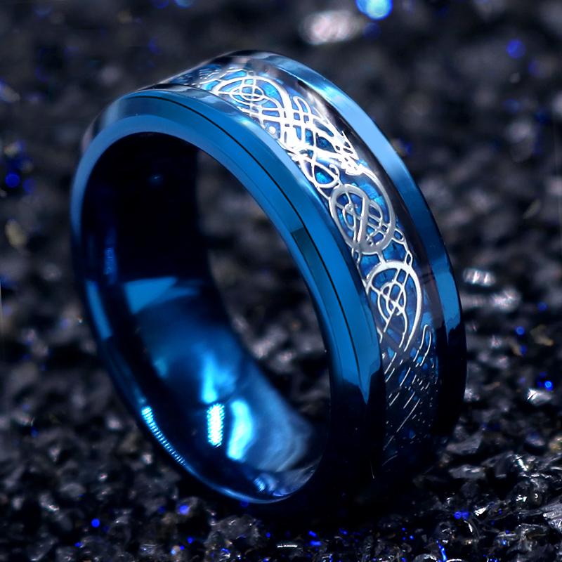 钛钢戒指男