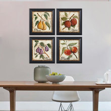 Optimal draw all retro restaurant decoration American continental hotel hang a picture to a frame painting murals painted quadruple still lifes