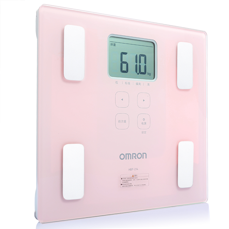 Полностью новый оригинал Omron измеритель жировых отложений HBF-214 инструмент для измерения жировых отложений жировые отложения толстый жир