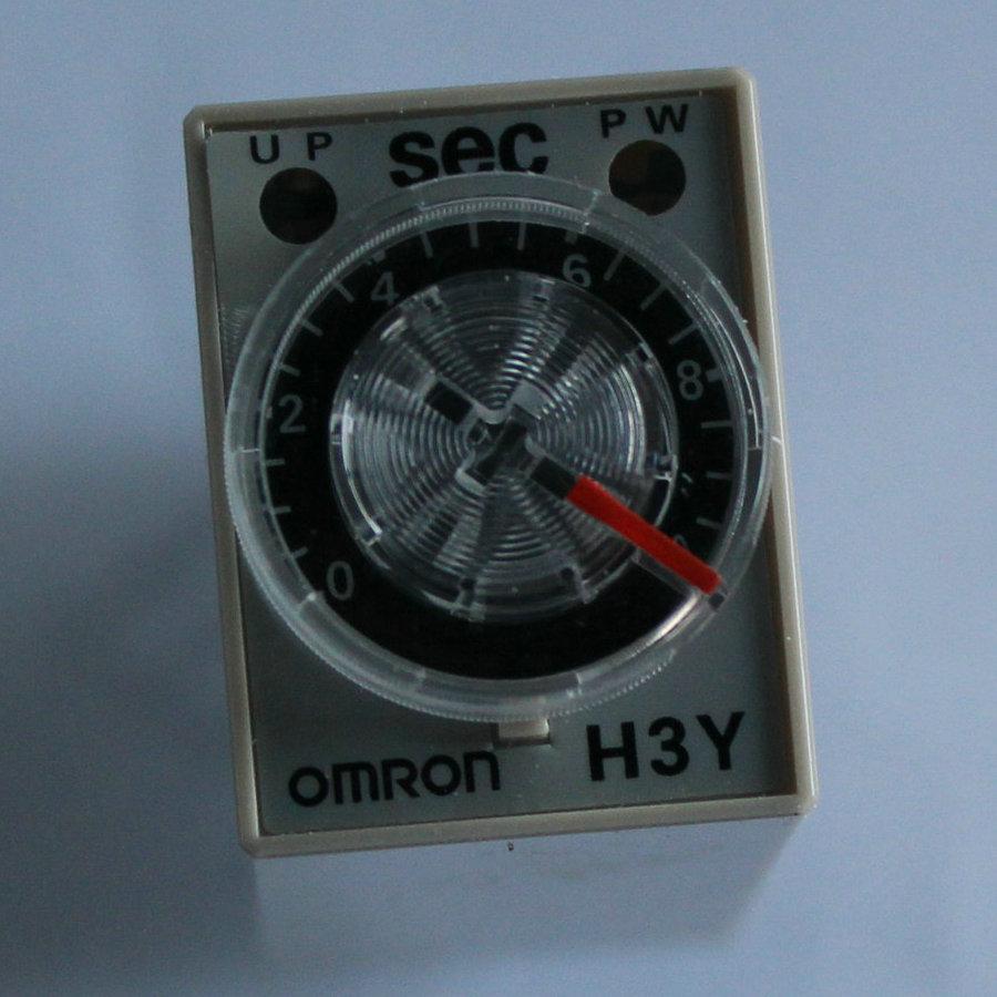 歐姆龍時間繼電器 H3Y-2-C DC24V 60S 歐姆龍定時器 貨多