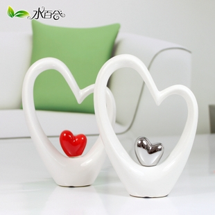 Ceramic vase stylish modern abstract decoration crafts ornaments living room decorative home accessories new house gift