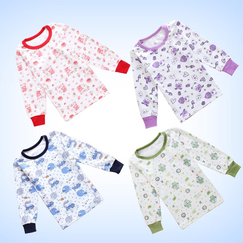 兒童保暖純棉全棉寶寶睡衣