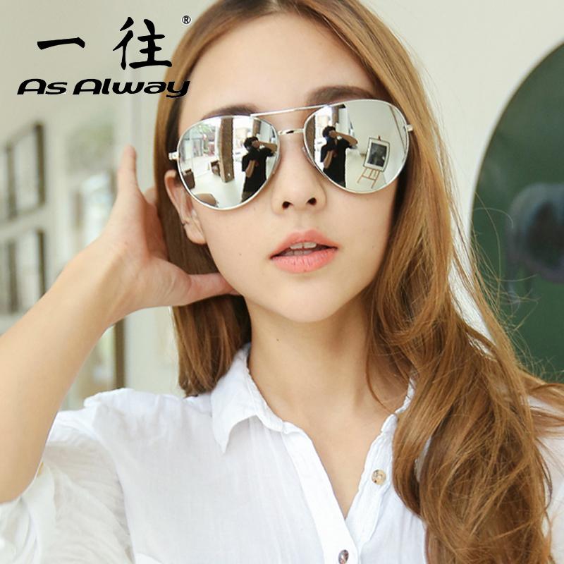 維多利亞vb偏光太陽鏡女潮復古大框反光眼鏡蛤蟆鏡男明星同款墨鏡