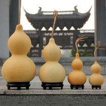 天然大葫蘆擺件文玩手捻把玩小葫蘆掛件風水家居手把件客廳開光