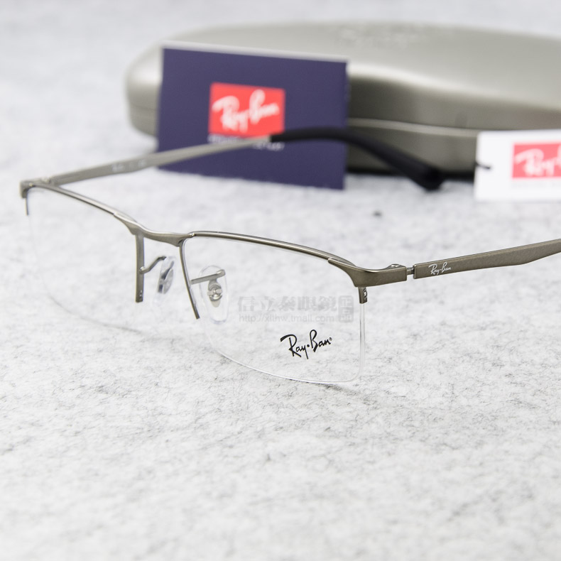dfc1e4229a7 Authentic RayBan Ray-Ban glasses fashion glasses frame optical frame  glasses frame half RB 6281. Loading zoom
