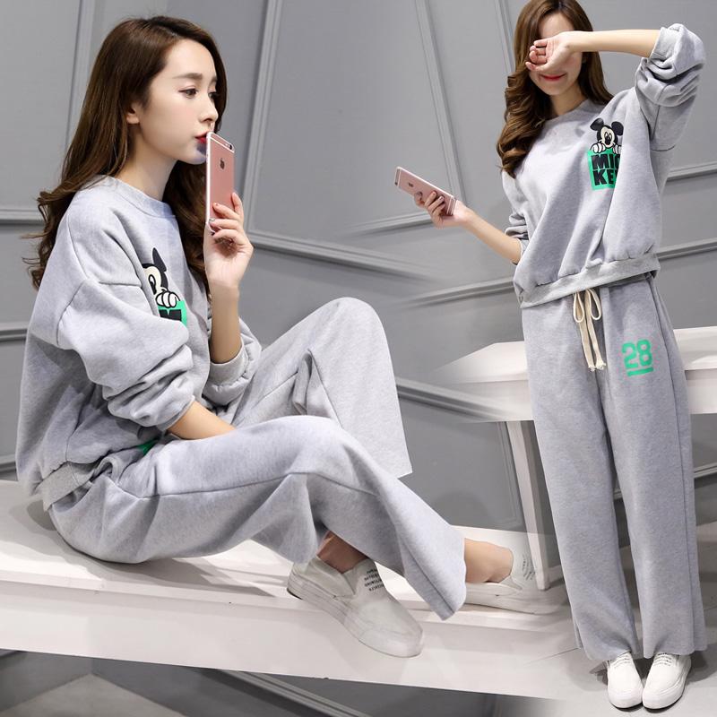 大牌范欧美春夏季新款女装春装品牌专卖店韩版专柜气质淑女运动套