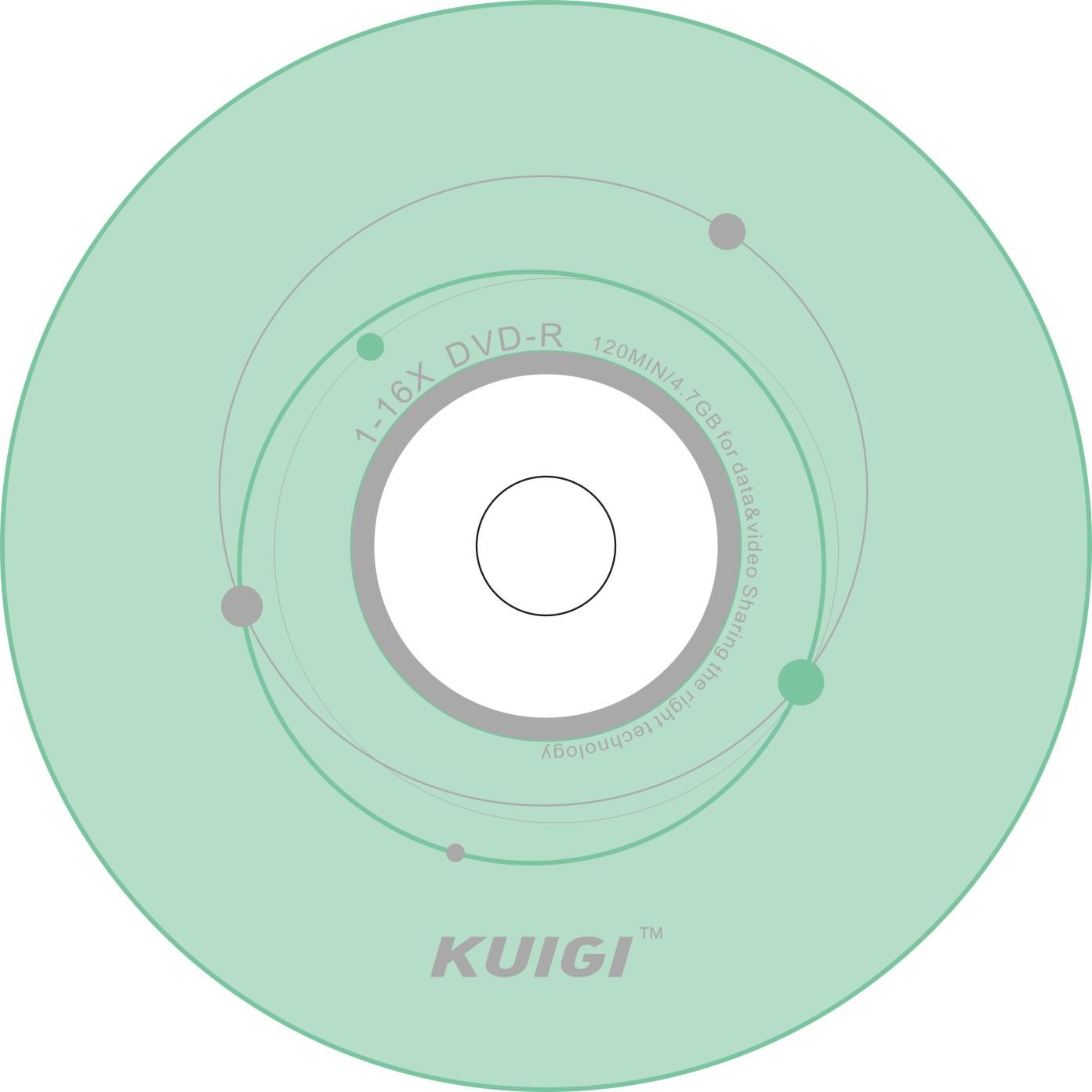 包郵正品酷感DVD~R 1~16X 10片單片散裝 空白光盤 DVD刻錄盤
