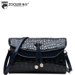 Jules Lady crocodile pattern bag fashion handbag Crossbody bag fall/winter leisure shoulder bag leather new
