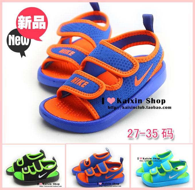 Мальчики сандалии Xia Детская спортивная обувь, обувь для девочек Детская обувь сандалии