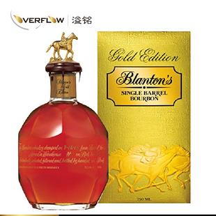正品包邮波兰顿金标波旁威士忌WhiskeyGoldsBlanton洋酒