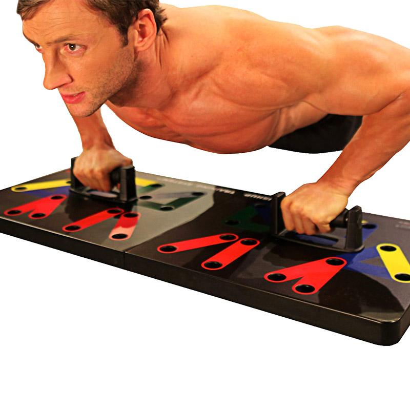Многофункциональный отжимания грудь мышца обучение стоять отжимания доска практика живот мышца отжимания пластина двутавровый s тип домой