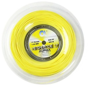 New special Alpha / Alpha Vengeance Tennis line resistance to fight the polyester tape is not the trace