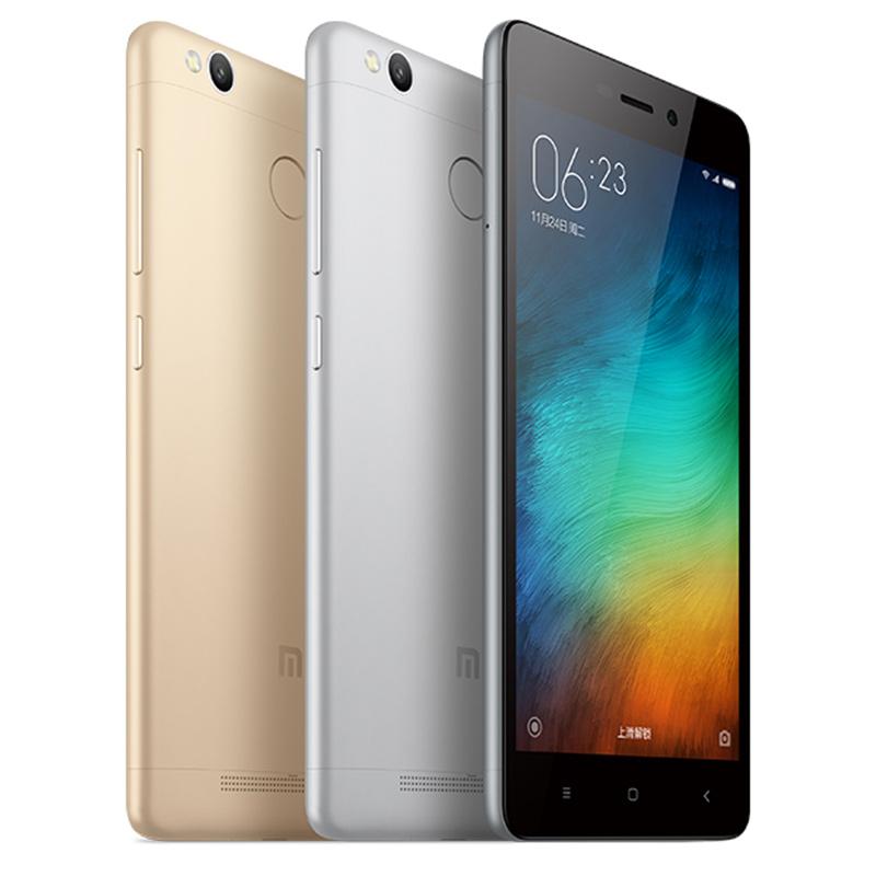 包郵 Xiaomi 小米 紅米手機3S 高配版 雙卡雙待智能指紋識別手機