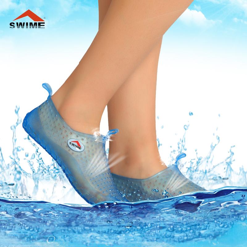 Без формальдегида swime подлинной почты Тапочки для мужчин и женщин плавание дайвинг обувь мягкие, удобные сандалии скольжения