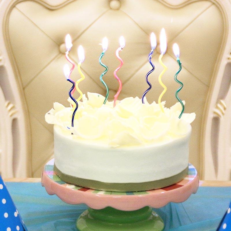 Спираль вращения твист свеча торты партии поставок день рождения свечи количество свечей компаньоны детский праздник