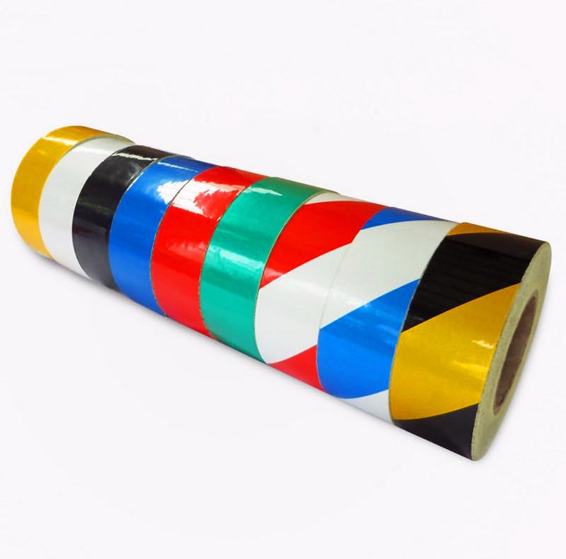 反光胶带5cm/10cm黑黄道路交通反光  胶带 反光条 反光带