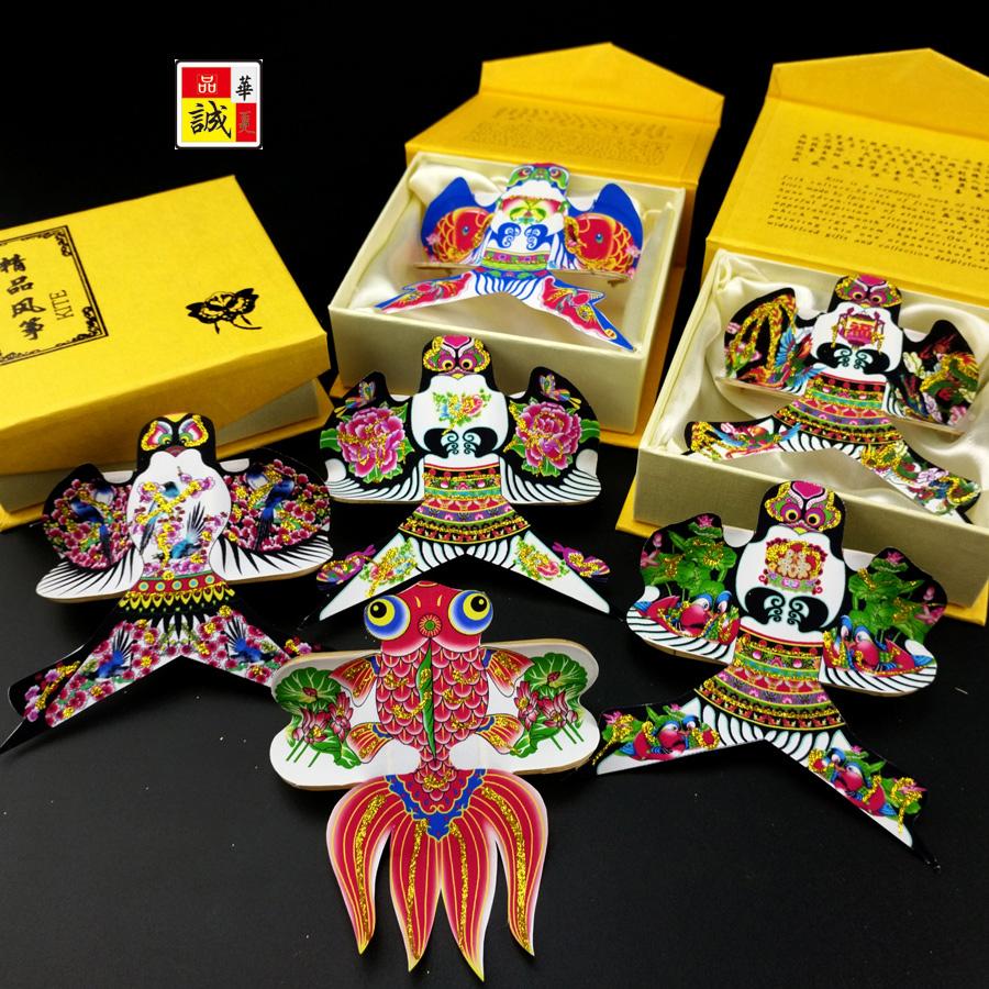 Упакованный коршун рука наконечник малый чжэн (гусли) мелкий песок глотать Вэй место коршун подарок культура из из страна подарок премиум годовщина статья