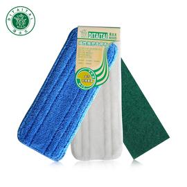 涤太太平板拖把布 替换布 布磁化布木地板拖把清洁布 拖布