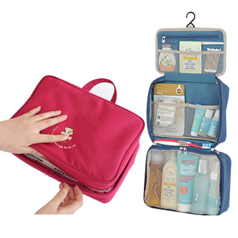 洗漱包男士旅行便攜出差防水收納包女款化妝包套裝大容量旅行用品