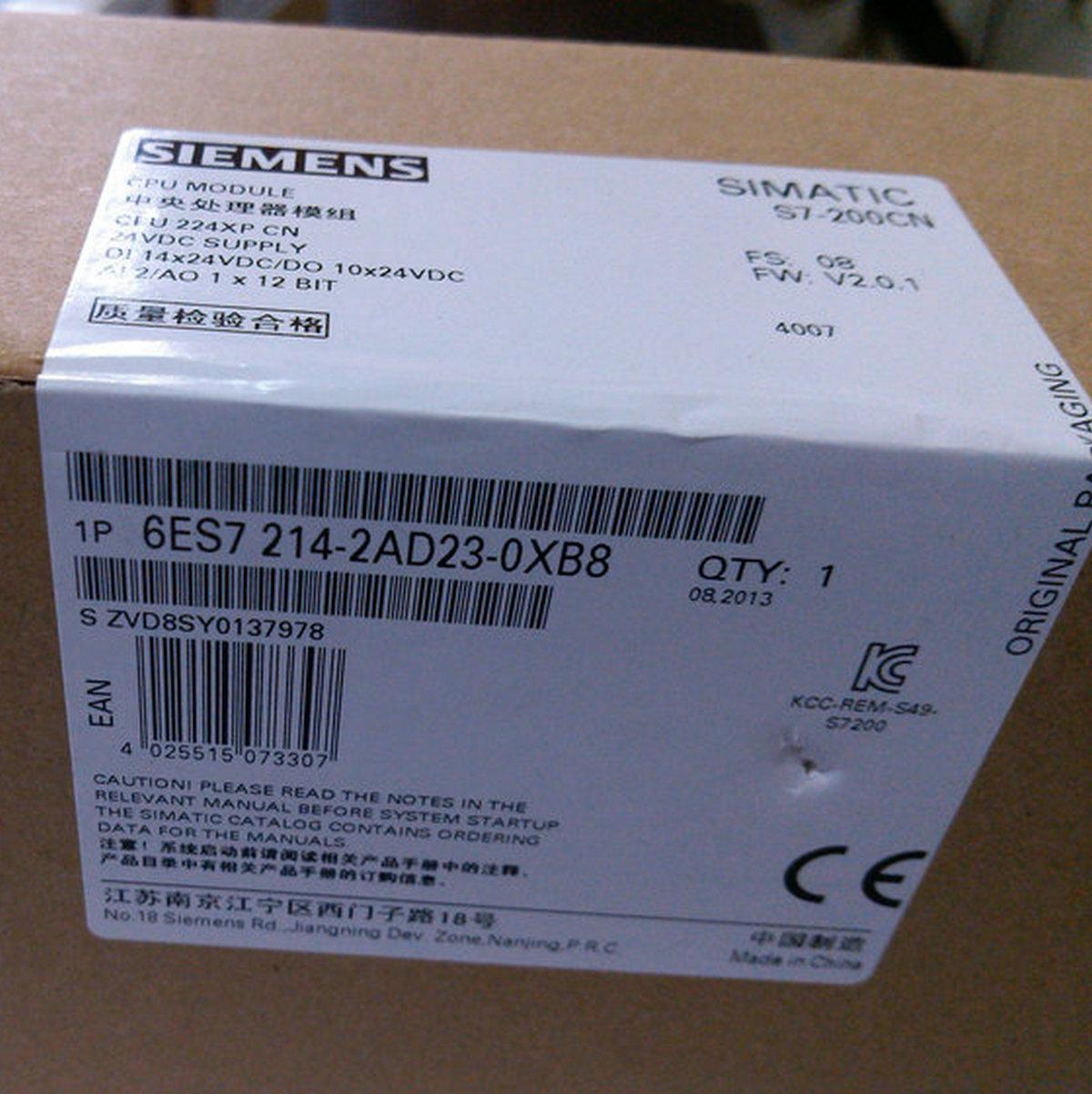 西門子PLC本體6ES7214-1BD23-0XB8 S7-200 CPU224 繼電器型