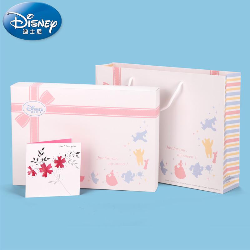 Disney DISNEY носовой платок полотенце для мальчиков полотенце полотенце нагрудник красивая подарочная упаковка пакет + большой мешок подарков + поздравительные открытки