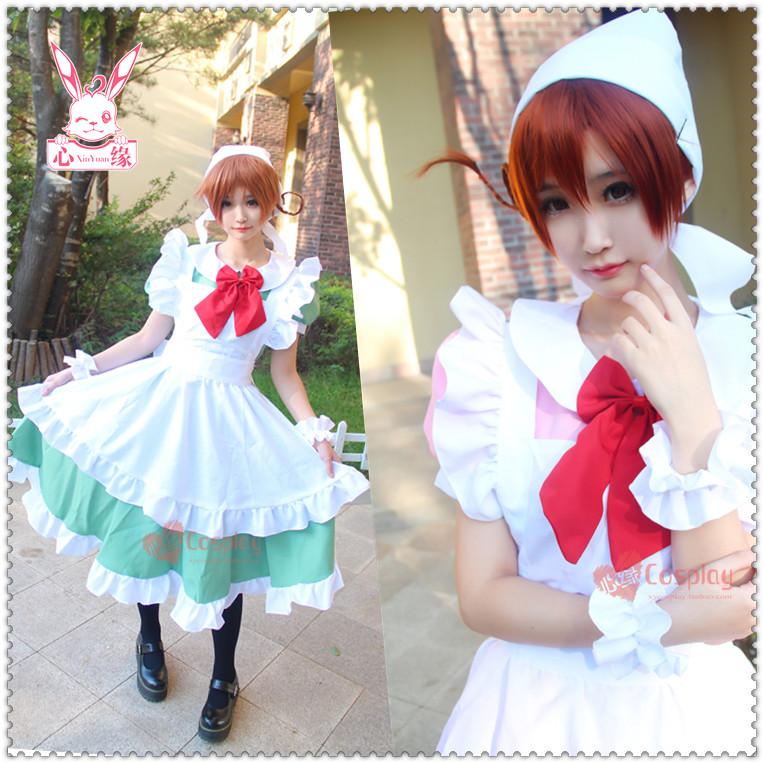 心缘cosplay ◆APH黑塔利亚◆伊双子-cos女仆装