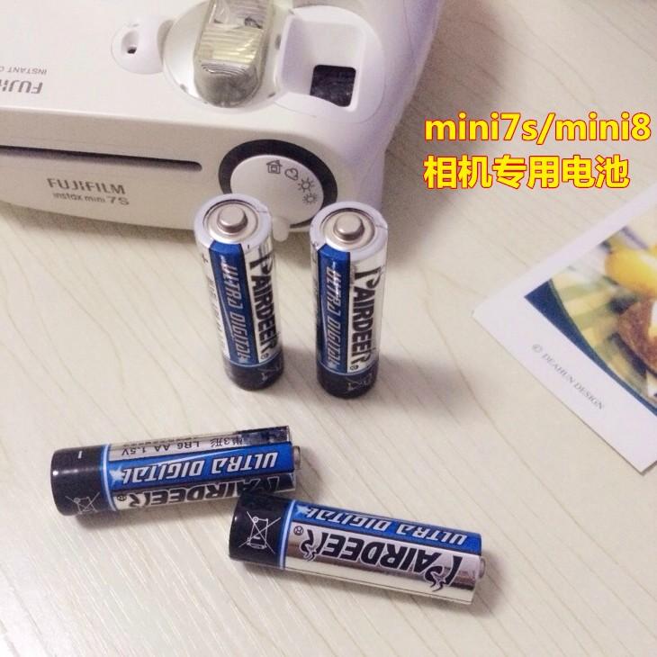 富士一次成像拍立得4节套装电池10-20新券
