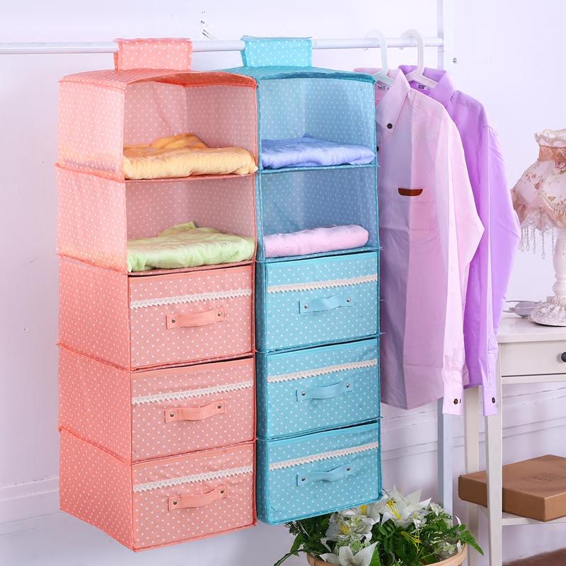 納衣閣抽屜式衣櫃收納掛袋懸掛式宿舍收納袋衣物收納盒多層儲物袋