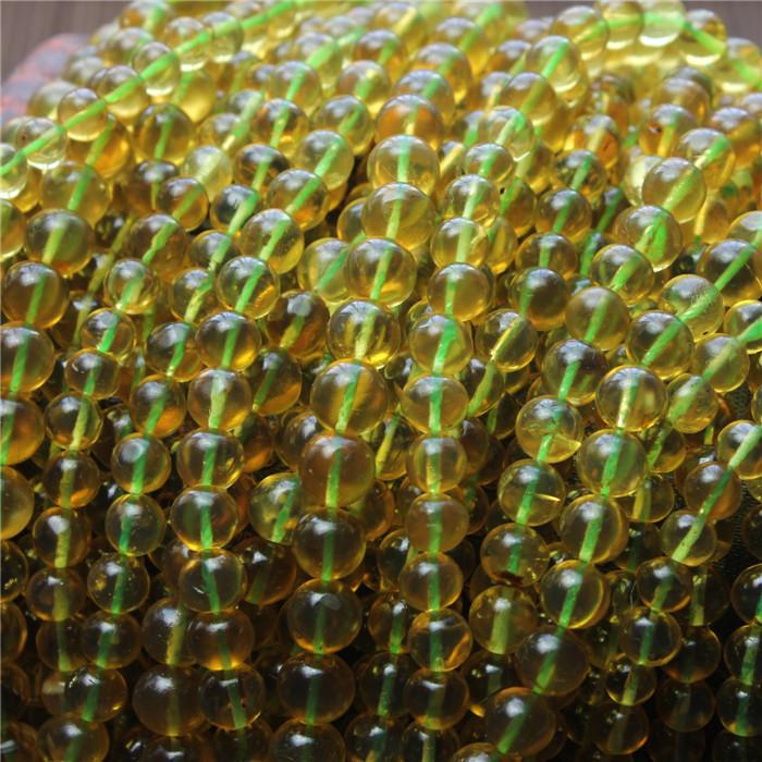 正品缅甸天然琥珀金珀珠子 琥珀珠子 缅甸一手货源价格便宜