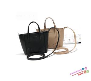出口新加坡外贸原单尾货黑色女式包时尚潮千秋手提斜挎单肩小包袋
