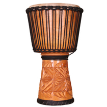 African tambourine 12 inch 13 inch master adult beginner start playing Lijiang Laoshan sheepskin wood hollowed out