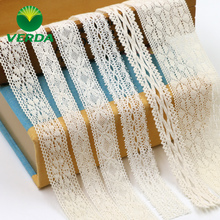 Vidal lace trim accessories cotton spinning lace trim wrapped hand DIY clothing dress skirt strap material